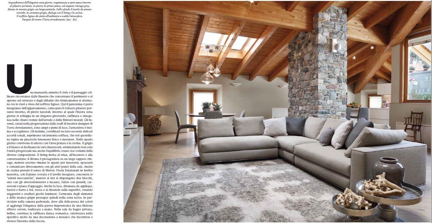 Girotondo di spazi e tonalit interior designer turra for Turra arredamenti