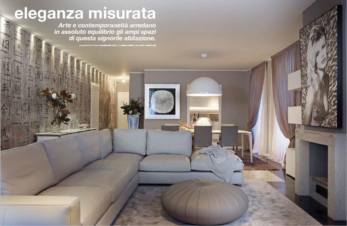 Eleganza misurata interior designer turra cristian turra for Turra arredamenti