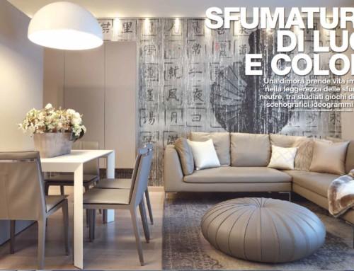 Sfumature di luci e colori interior designer Turra Cristian