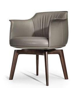 Poltrona Frau Brescia News 2019 Archibald Dining Chair
